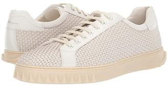 Salvatore Ferragamo Cube 17 Sneaker (White) Men's Shoes