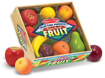 Melissa & Doug Play Time Fruit Crate