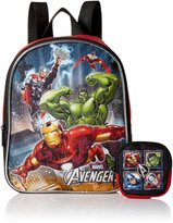 Marvel Boys' Avengers Mini Backpack with Utility Case