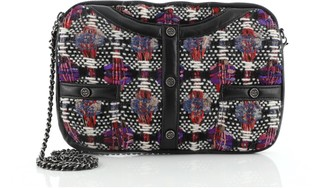 Chanel Girl Clutch on Chain Quilted Tweed Medium
