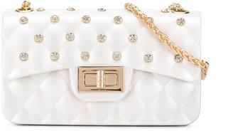 MonnaLisa Studded Quilted Shoulder Bag