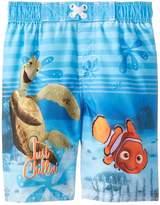 Disney Little Boys' Nemo Swim Trunk