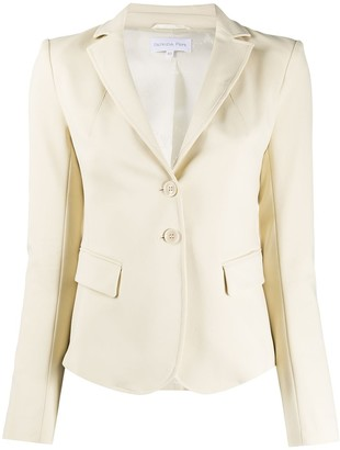 Patrizia Pepe Plain Fitted Blazer