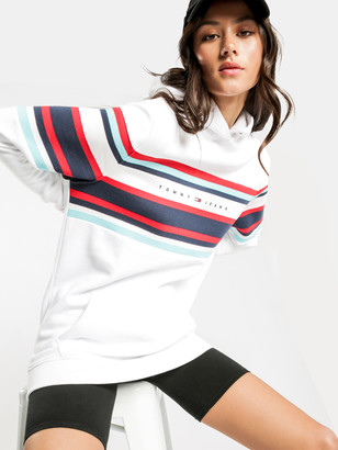 Tommy Hilfiger Relaxed Hoodie in White