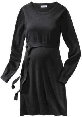 Liz Lange for Target® Maternity Long-Sleeve Sweater Dress - Black