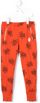 Bobo Choses logo print trousers - kids - Cotton/Polyester/Spandex/Elastane - 4 yrs