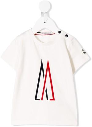 Moncler Enfant M print T-shirt