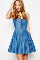 Jack Wills Dress - Penpethy Frill Front