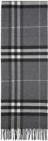 Burberry Grey Check Giant Icon Scarf
