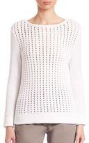 Eleventy Honeycomb Sweater