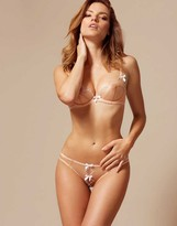 Agent Provocateur Lorna Ouvert Nude And White