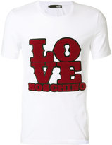 Love Moschino printed crewneck T-shirt