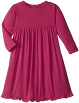 Kickee Pants Swing Dress (Baby) - Rhododendron - 12-18 Months
