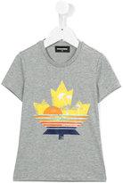 DSQUARED2 sun print T-shirt - kids - Cotton - 4 yrs