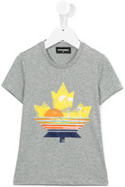 DSQUARED2 sun print T-shirt - kids - Cotton - 8 yrs