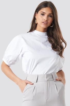 NA-KD Balloon Short Sleeve Shirt