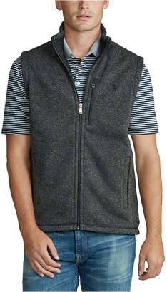 Polo Ralph Lauren Men Big & Tall Fleece Mockneck Vest
