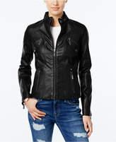 Joujou Jou Jou Juniors' Faux-Leather Moto Jacket
