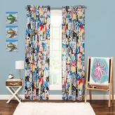 Crayola Dream On 84-Inch Window Curtain Panel