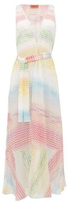 Missoni Mare - Zigzag-knitted Cover-up - Womens - Multi