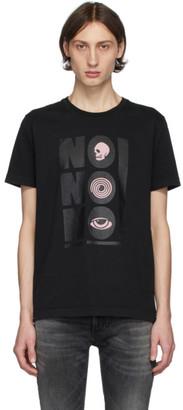 Nudie Jeans Black No No No Roy T-Shirt