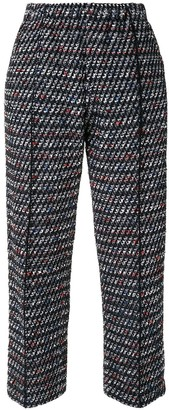 Coohem Cropped Tweed Trousers