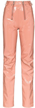 GmbH Frey double-zip trousers