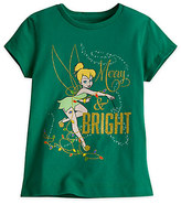 Disney Tinker Bell Holiday Tee for Girls