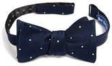 The Tie Bar Men's Silk Dot Bow Tie