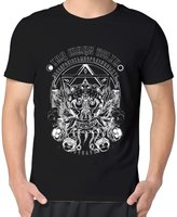 Shawan12drew The Mars Volta Rock Band Goliath Logo Man's O-neck Tagless Screen-Print Tshirt