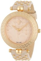 "Versace Women's VK7020013 ""Vanitas"" Rose Gold Ion-Plated Watch with Two Interchangeable Leather Straps"