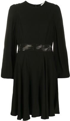 Zimmermann Perforated Waist Dress