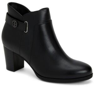 Giani Bernini Memory Foam Artemyss Booties, Created for Macy's Women's Shoes