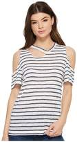 LnA Avalanche Striped Tee Women's T Shirt
