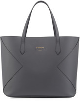 Givenchy Wing Smooth Leather Shopping Tote Bag