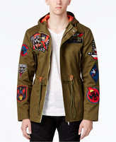 Reason Men's Hawker Patches Fish Tail Parka