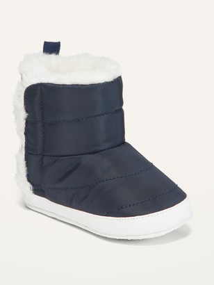 Old Navy Unisex Sherpa-Lined Nylon Snow Boots for Baby