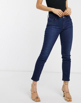 J Brand Adele mid rise straight leg jeans