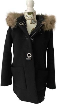 Sandro Fall Winter 2018 Black Cashmere Coat for Women