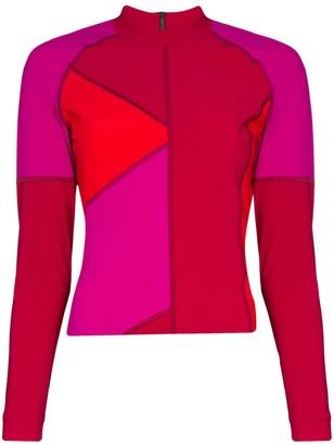 LNDR Malibu colour-block top