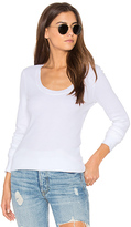 Splendid Nordic Thermal Long Sleeve Scoop Tee