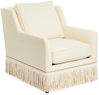 One Kings Lane Portsmouth Chair - Cream Linen