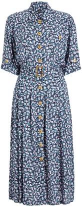 Paul Smith Printed Shirt Dress, Blue