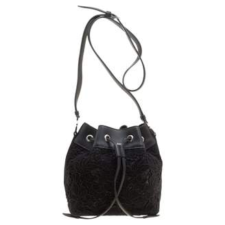 Rochas Black Leather Handbags