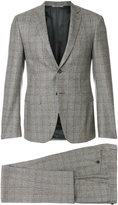 Canali checked formal suit