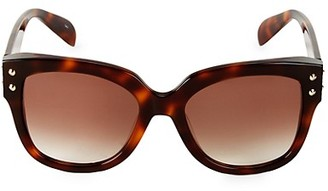 Alexander McQueen 57MM Cat Eye Sunglasses