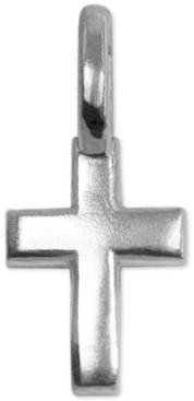 Alex Woo Sterling Silver Cross Mini-Charm in Sterling Silver