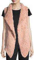 Neiman Marcus Faux Fur Vest