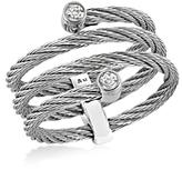 Alor Gray Diamond Cable Ring