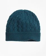 Brooks Brothers Cable Knit Hat